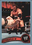 2011 WWE (Topps) Triple H 80