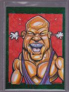 2013 TNA Impact Wrestling Live Trading Cards (Tristar) Kurt Angle 104
