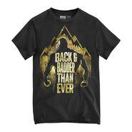 Braun Strowman Back & Badder Than Ever Authentic T-Shirt