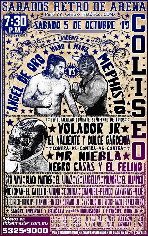 CMLL Sabados De Coliseo (October 5, 2019)