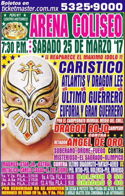 CMLL Sabados De Coliseo (March 25, 2017)