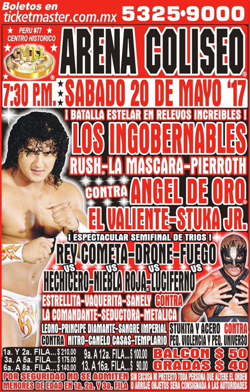 CMLL Sabados De Coliseo (May 20, 2017)