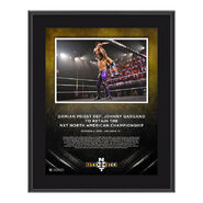 Damian Priest NXT Takeover 31 10 x 13 Commemorative Plaque