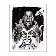 Jeff Hardy Rob Schamberger 11 x 14 Art Print