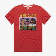 Rock 'N' Sock Connection WWE Slam Homage T-Shirt