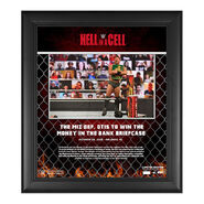The Miz Hell In A Cell 2020 15x17 Commemorative Plaque