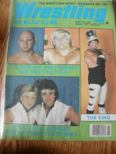 Wrestling Revue - August 1984