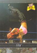 2001 WWF The Ultimate Diva Collection (Fleer) Lita 70