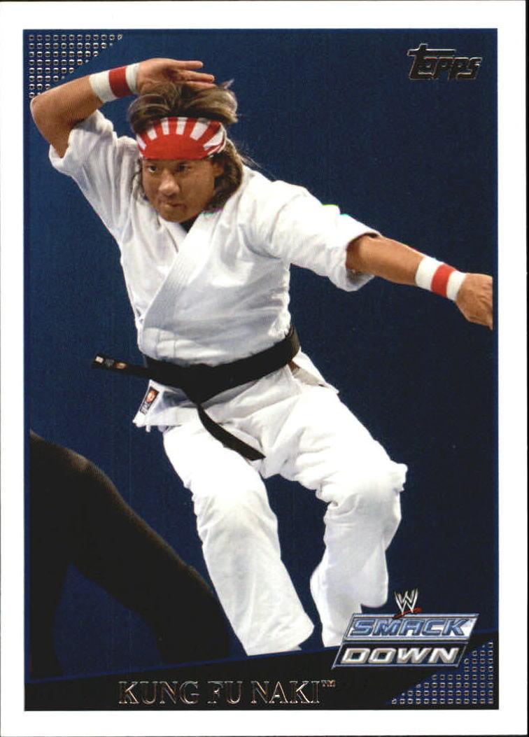 2009 WWE (Topps) Kung Fu Naki (No.65)