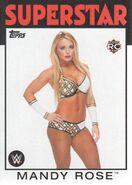2016 WWE Heritage Wrestling Cards (Topps) Mandy Rose 47