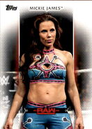 2017 WWE Women's Division (Topps) Mickie James 21