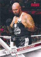 2017 WWE Wrestling Cards (Topps) Luke Gallows 23