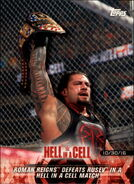 2018 WWE Road to WrestleMania Trading Cards (Topps) Roman Reigns 5
