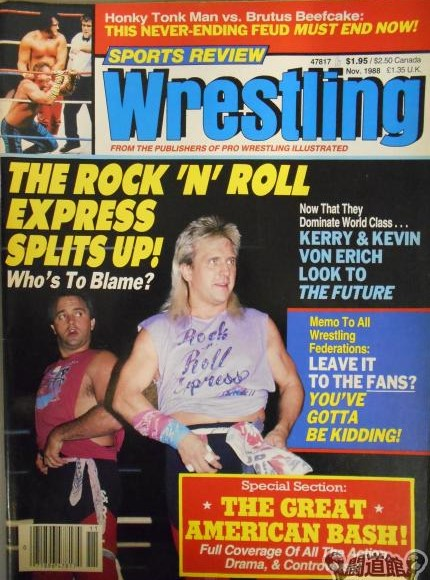 Sports Review Wrestling - November 1988
