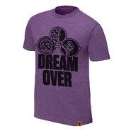 Velveteen Dream Dream Over Authentic T-Shirt