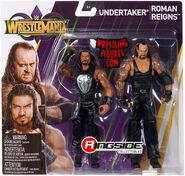 WWE Battle Packs WrestleMania 33 Roman Reigns & Undertaker
