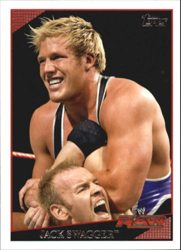 2009 WWE (Topps) Jack Swagger (No.29)