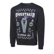 Undertaker Deadman Inc. Ugly Holiday Sweatshirt