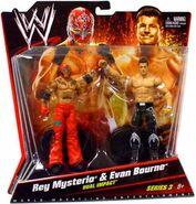 WWE Battle Packs 3 Rey Mysterio & Evan Bourne