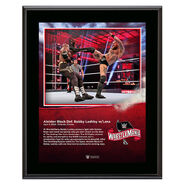 WrestleMania 36 Aleister Black 10 x 13 Limited Edition Plaque