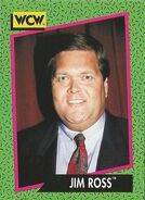 1991 WCW (Impel) Jim Ross 154