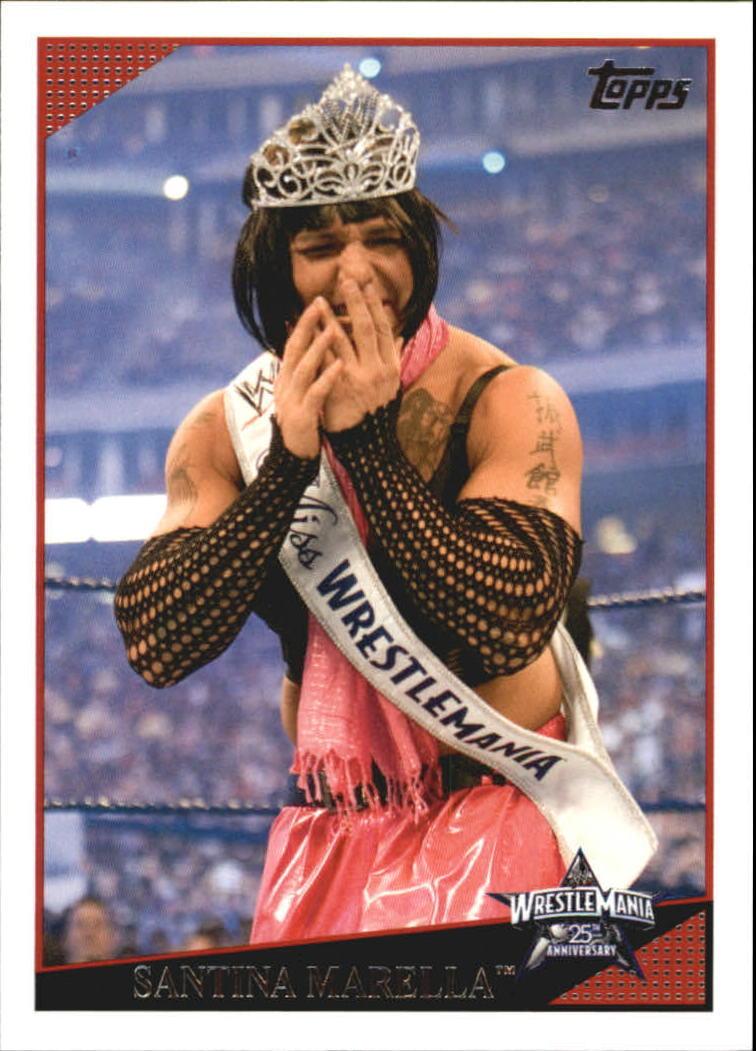 2009 WWE (Topps) Santina Marella (No.80)