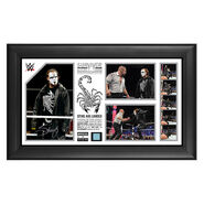 Sting Signed Sting Has Landed Commemorative Survivor Series 2014 Plaque