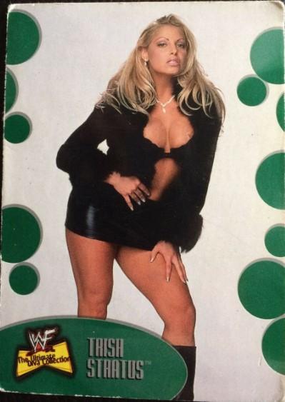 2001 WWF The Ultimate Diva Collection (Fleer) Trish Stratus (No.1)