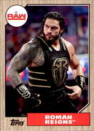 2017 WWE Heritage Wrestling Cards (Topps) Roman Reigns 30