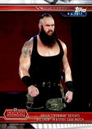 2019 WWE Road to WrestleMania Trading Cards (Topps) Braun Strowman 1