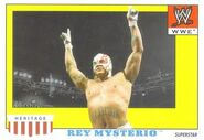 2008 WWE Heritage IV Trading Cards (Topps) Rey Mysterio 42