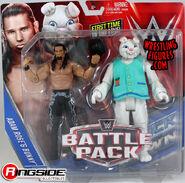Adam Rose & Bunny - WWE Battle Packs 38