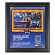 Becky Lynch SummerSlam 2021 15x17 Commemorative Plaque