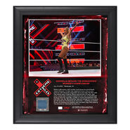 Carmella Extreme Rules 2018 15 x 17 Framed Plaque w Ring Canvas