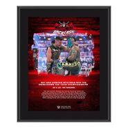 Rey Mysterio & Dominik Mysterio WrestleMania Backlash 2021 10x13 Commemorative Plaque