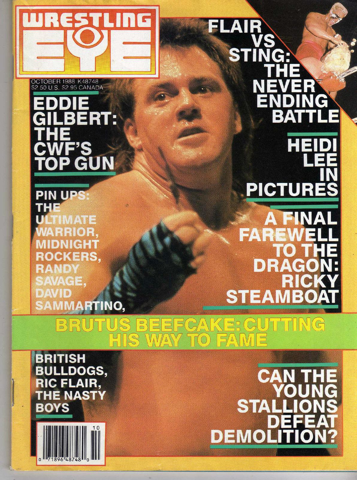 Wrestling Eye - October 1988
