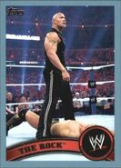 2011 WWE (Topps) The Rock 82