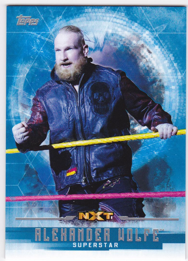 2017 WWE Undisputed Wrestling Cards (Topps) Alexander Wolfe (No.41)