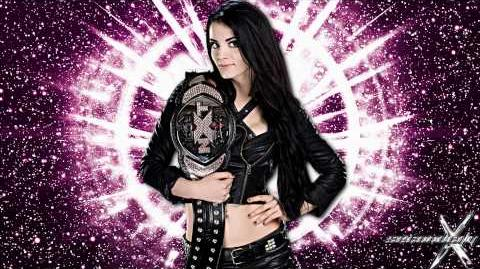 """WWE """"Smashed In the Face"""" ► Paige 1st Theme Song"""