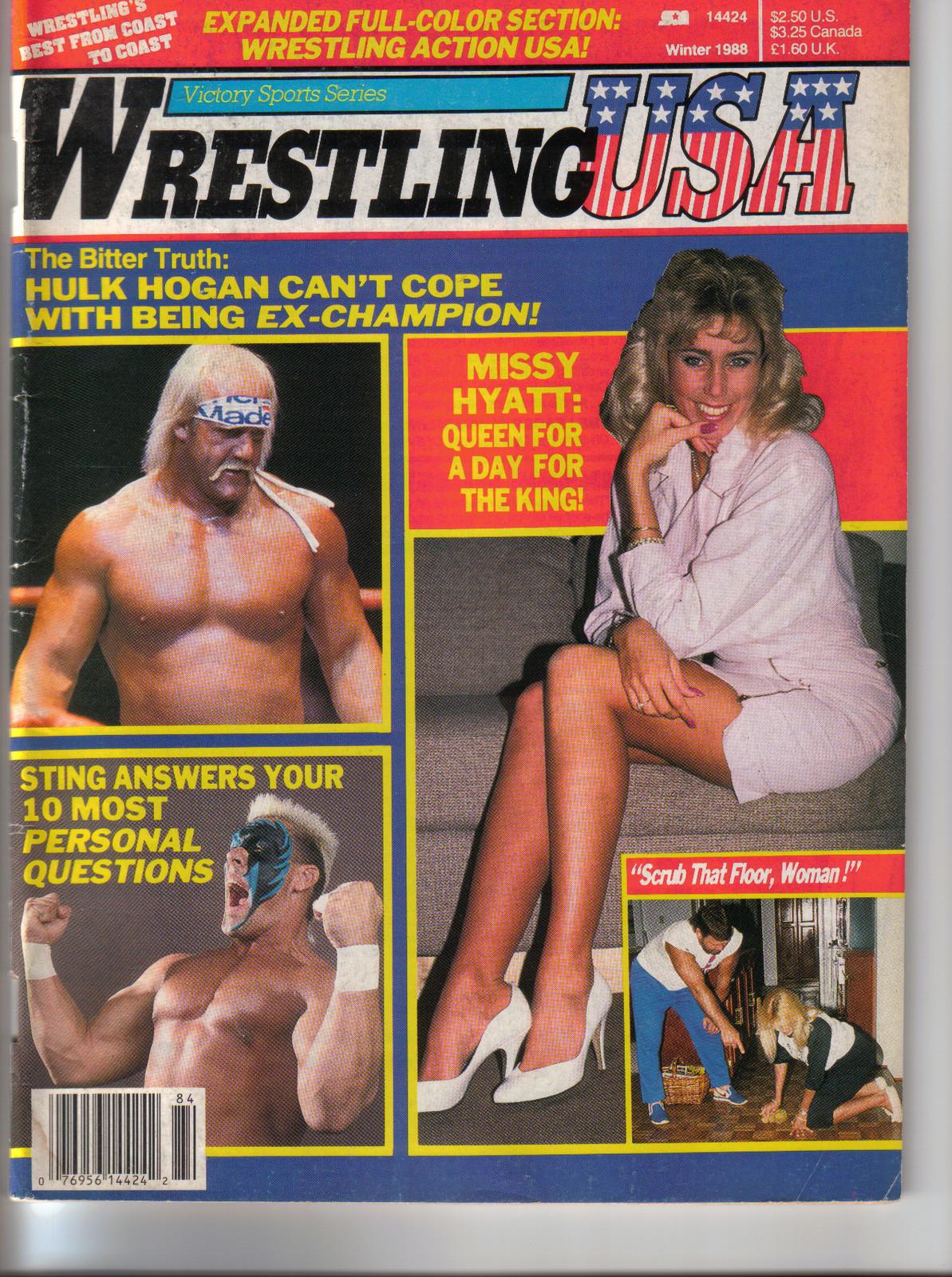Wrestling USA - Winter 1988