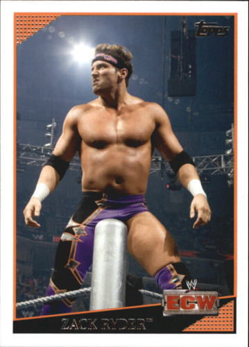 2009 WWE (Topps) Zack Ryder (No.73)