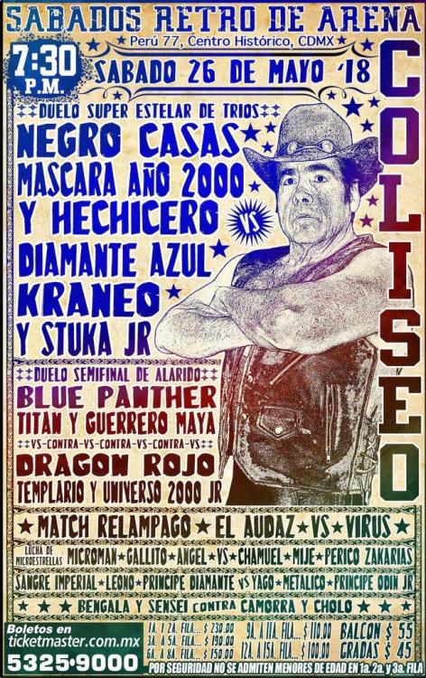 CMLL Sabados De Coliseo (May 26, 2018)