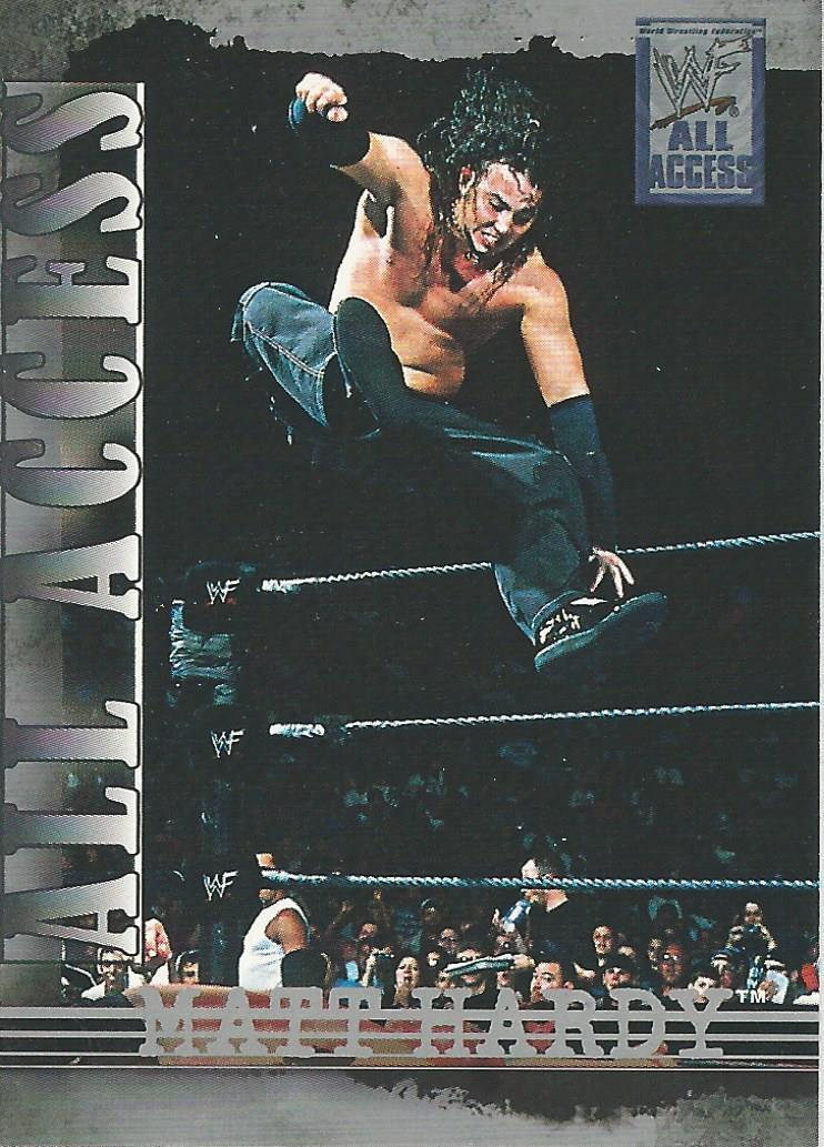 2002 WWF All Access (Fleer) Matt Hardy (No.48)