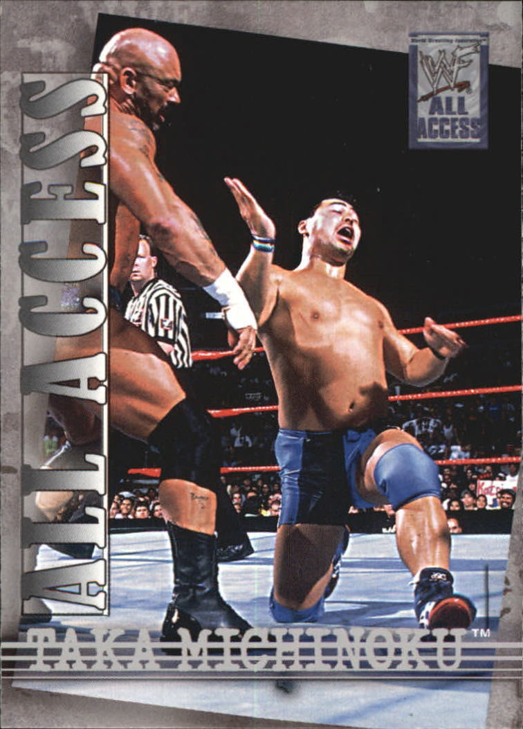2002 WWF All Access (Fleer) Taka Michinoku (No.31)