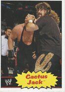 2012 WWE Heritage Trading Cards Cactus Jack 46