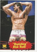 2012 WWE Heritage Trading Cards Rick Rude 98