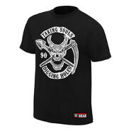 Undertaker Taking Souls and Digging Holes Authentic T-Shirt
