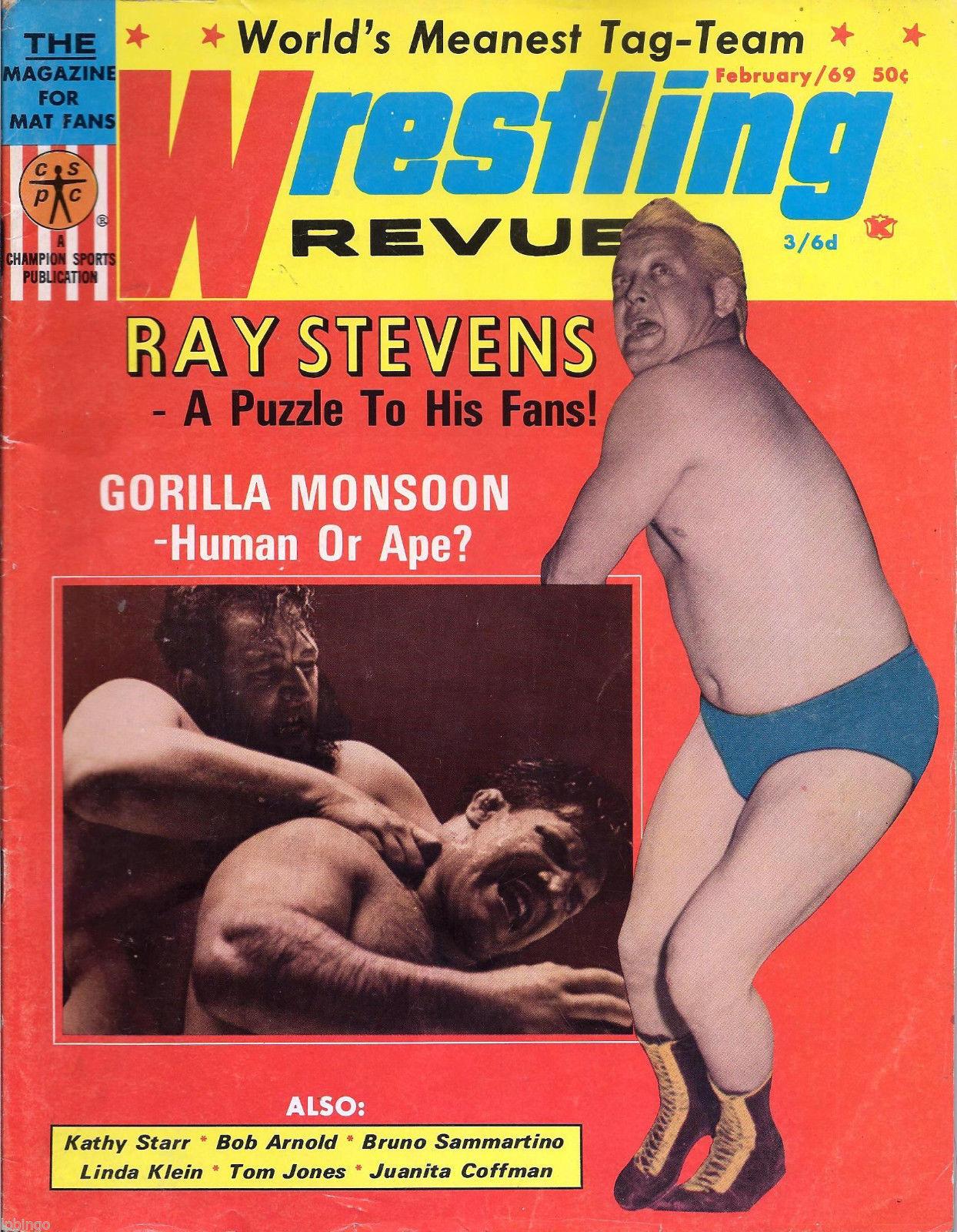 Wrestling Revue - February 1969