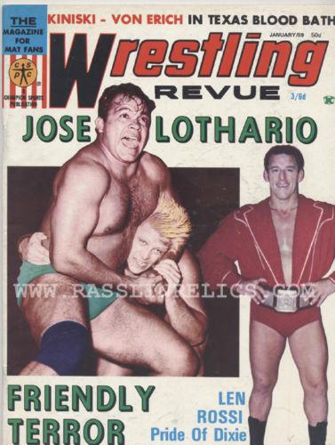 Wrestling Revue - January 1969