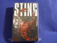 1998-99 Sting Flying Colors Pencil Box